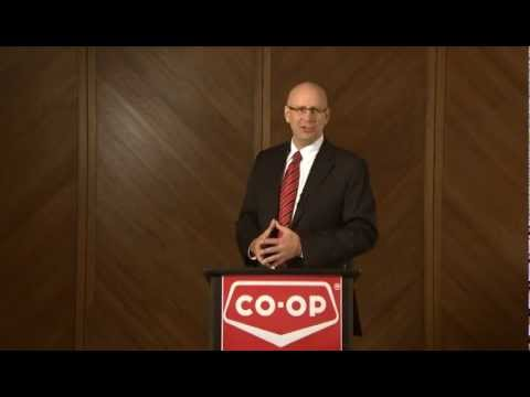 FCL CEO Scott Banda addresses 2011 Co-op Fall Conferences