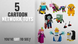Top 10 Cartoon Network Toys [2018]: LEGO Ideas Adventure Time (21308) - Building Toy and Popular
