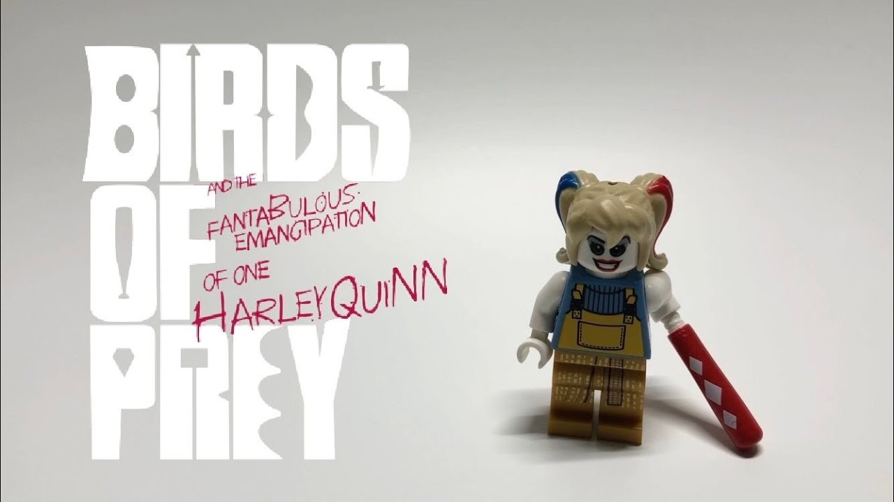 Lego Harley Quinn From Birds Of Prey Custom Minifigure Youtube