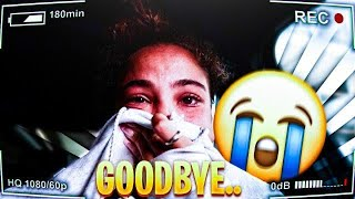 MY FINAL GOODBYE TO MY BOYFRIEND !!! HE LEFT TO CHICAGO (I STARTED CRYING SO HARD) **EMOTIONAL**