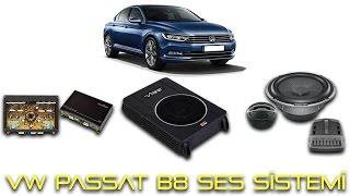 Volkswagen Passat B8 Ses Sistemi Uygulaması