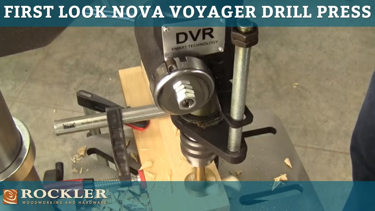 First Look At The Nova Voyager Drill Press Youtube