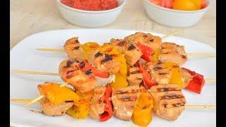 Рецепт вкусного шашлыка из курицы