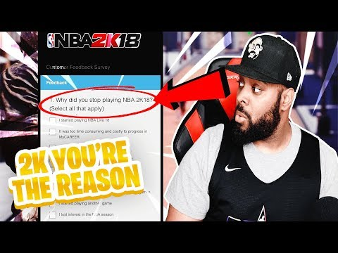 2K FINALLY TAKES THE BLAME FOR THEIR BROKEN GAME + NBA 2K18 IS LEARNING FROM FORTNITE & NBA LIVE 18