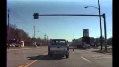 A drive down US Route 30 from North Huntingdon to Greensburg PA November 1990
