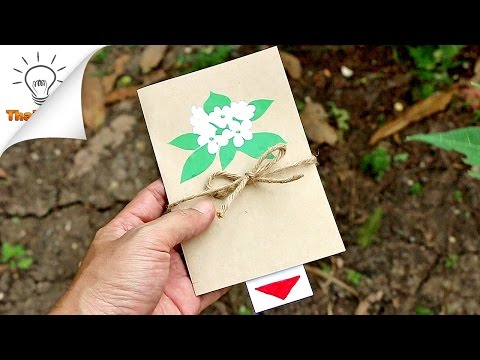 How to Make Waterfall Card (for Mom) | Thaitrick