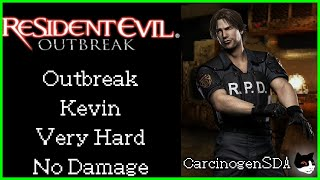 """Resident Evil: Outbreak (PS2) - """"Outbreak"""" - Kevin, Very Hard, No Damage"""