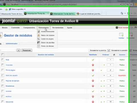 Joomla 1.5 Problema Con Futuron Radom Flash BANNER ALEATORIOS SWF
