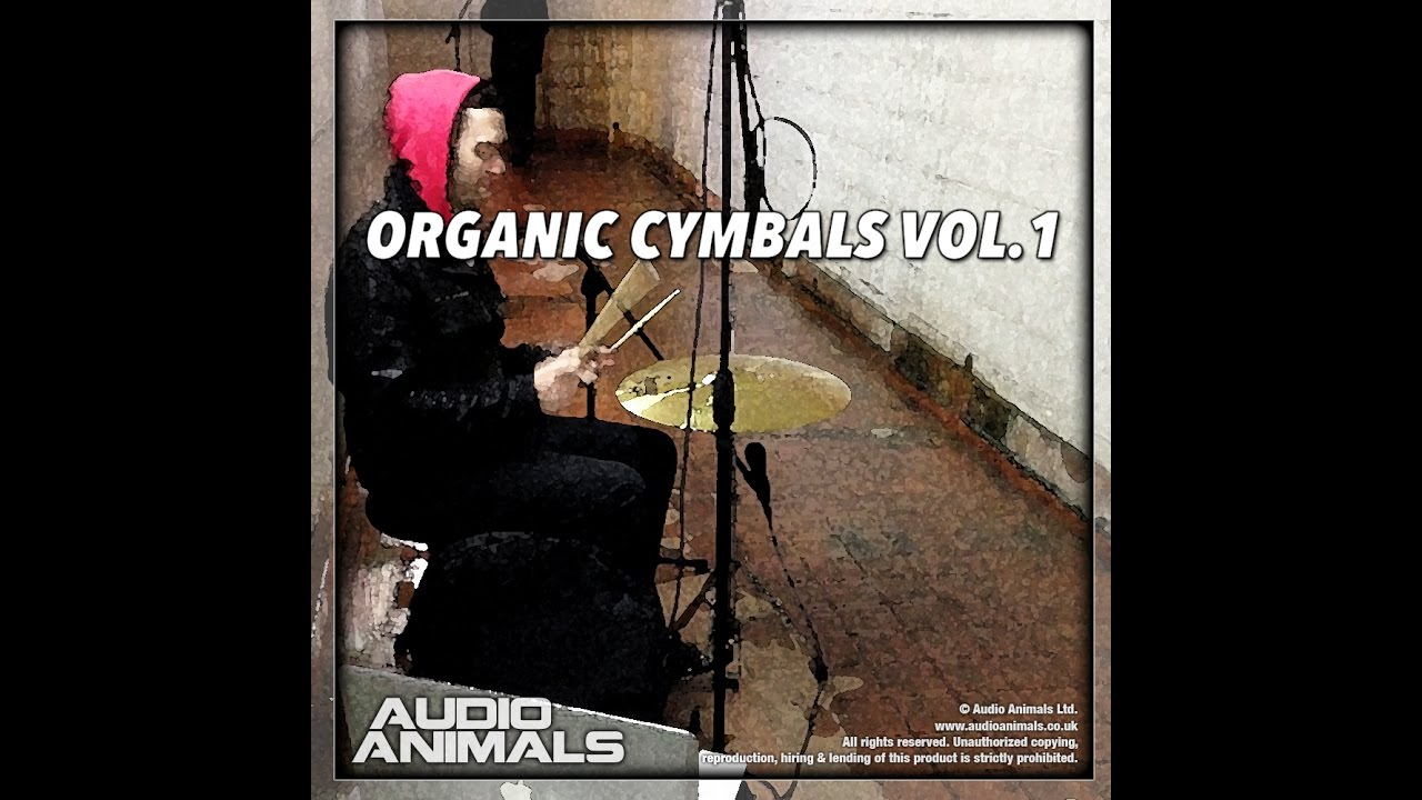 Organic Cymbals Vol 1 (Wav + Kontakt Sample Pack)