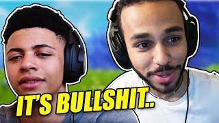 MYTH GETS ANGRY AT HAMLINZ LOADOUT IN 1V1 *AWKWARD* - Fortnite