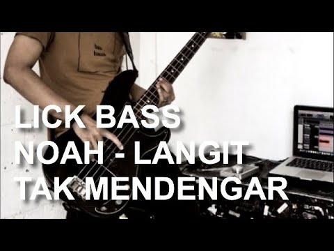 """Contekan Lick Bass Noah - """"Langit Tak Mendengar"""" (Subtitled)"""