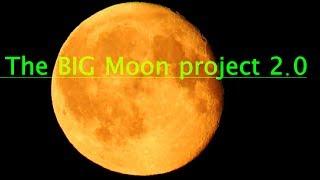 Flat Earth unite - The BIG Moon project 2.0 teaser - Nikon coolpix P900