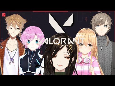 【VALORANT】初めてのメンバーと初めての戦場【白雪 巴/にじさんじ】