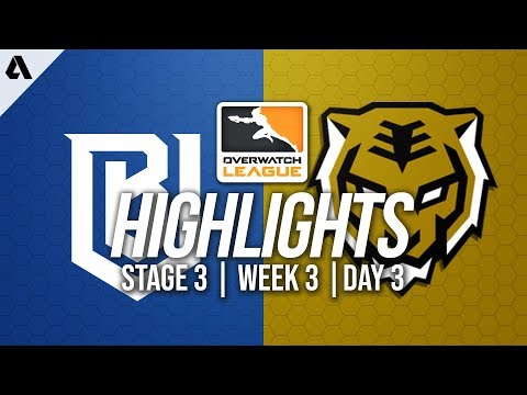 Boston Uprising vs Seoul Dynasty | Overwatch League Highlights OWL Stage 3 Week 3 Day 3
