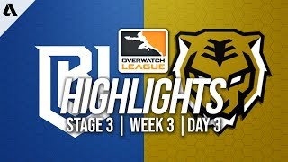 Boston Uprising vs Seoul Dynasty  Overwatch League Highlights OWL Stage 3 Week 3 Day 3
