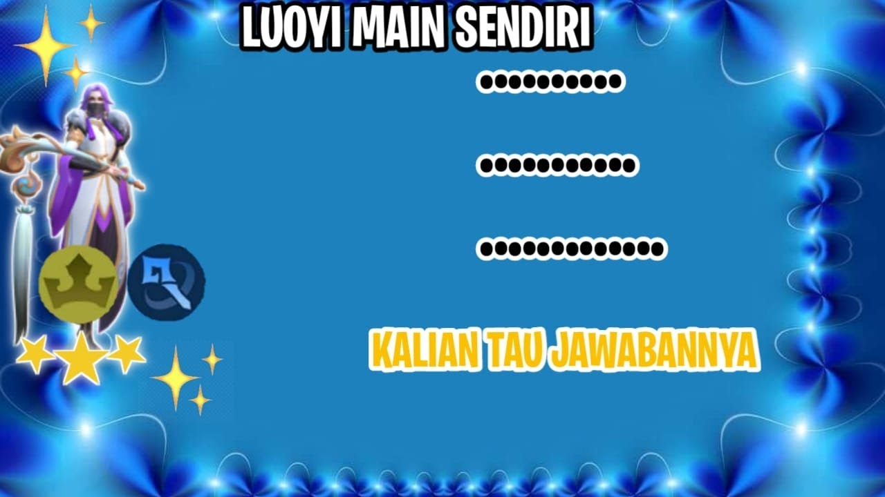 LUOYI EMPIRE MAGE BINTANG 3 ⭐⭐⭐ (AMPUN LUOYI JAGO) - MAGiC CHSS INDONESIA