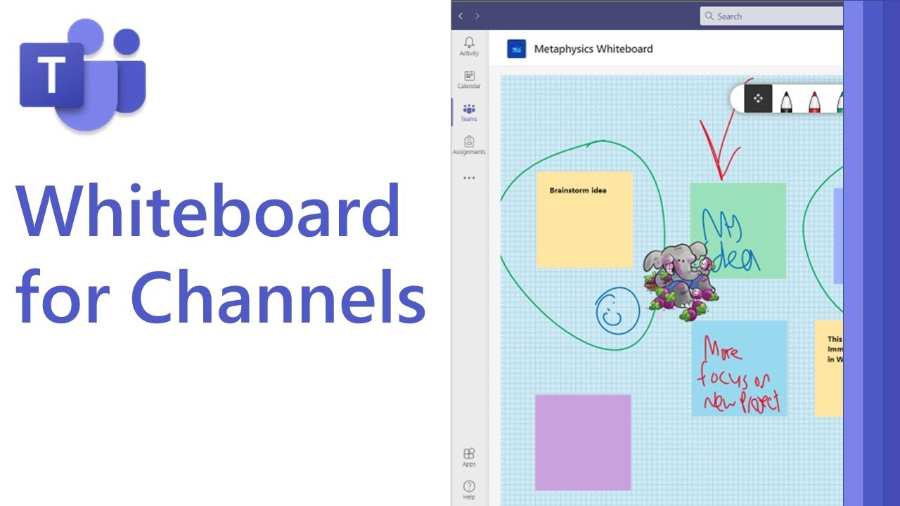How to use Whiteboard in Microsoft Teams channels [2021]
