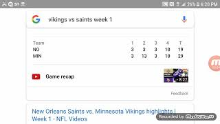 Vikings vs saints playoff predictions Who Will WIN!!!!