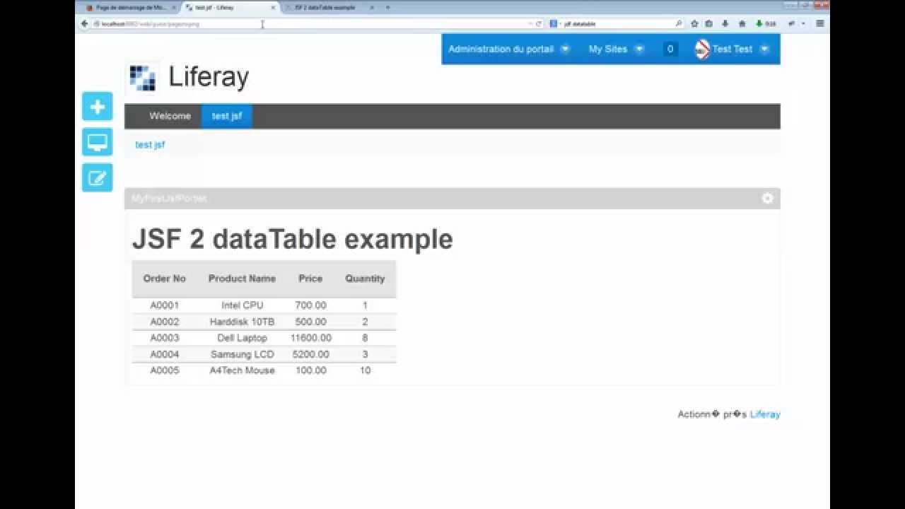 Liferay 62 tutorial 4 jsf 2 datatable example youtube liferay 62 tutorial 4 jsf 2 datatable example baditri Images