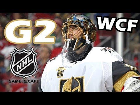 Vegas Golden Knights vs Winnipeg Jets. 2018 NHL Western Conference Final. G2. 05.14.2018. (HD)