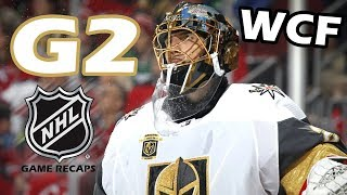 Vegas Golden Knights vs Winnipeg Jets. 2018 NHL Western Conference Final. G2. 05.14.2018. (HD)