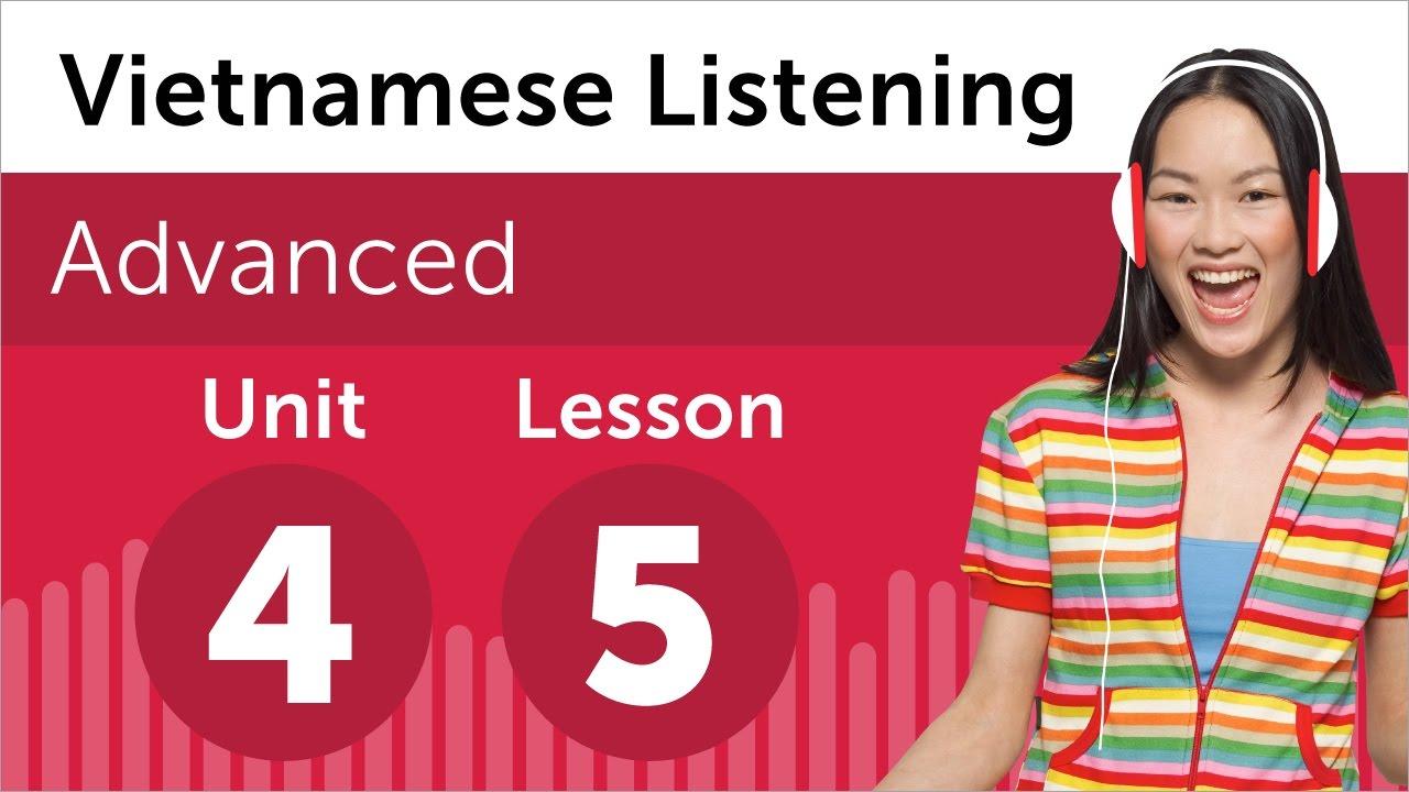 Vietnamese Listening Practice - Making a Complaint in Vietnamese