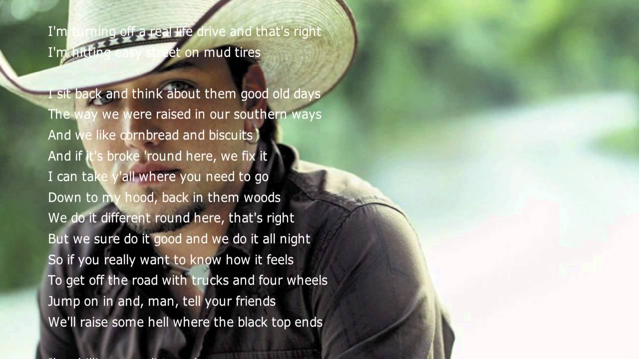 Jason Aldean - Dirt Road Anthem LYRICS HD - YouTube