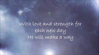 God Will Make A Way - Acapella Praise (Lyric Video)