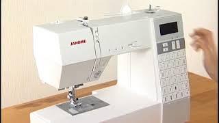 видео Швейная машина Janome Decor Computer 7060 (DC 7060)