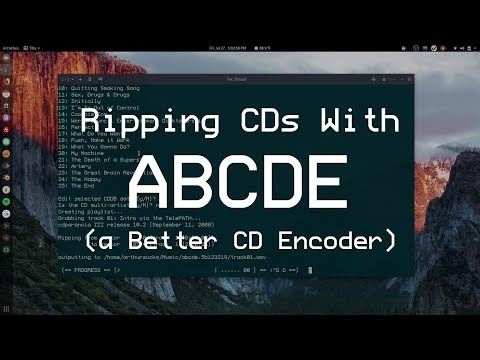 Ripping CDs with ABCDE