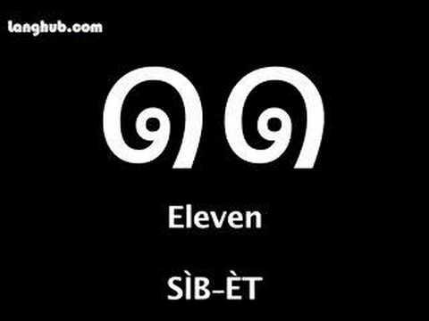 Numbers with Thai Script - Learn Thai - Langhub.com