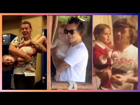 HARRY STYLES WITH KIDS