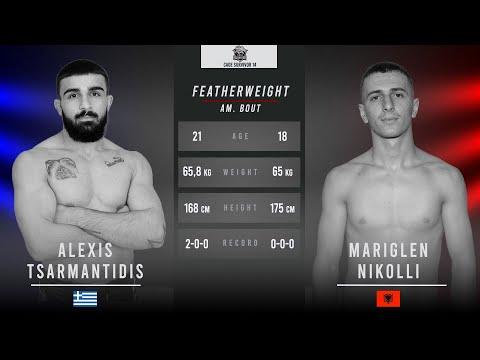 Cage Survivor 14: Alexis Tsarmantidis vs. Mariglen Nikolli Full Fight