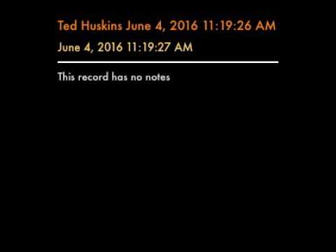 Ted Huskins June 4, 2016 11:19:26 AM