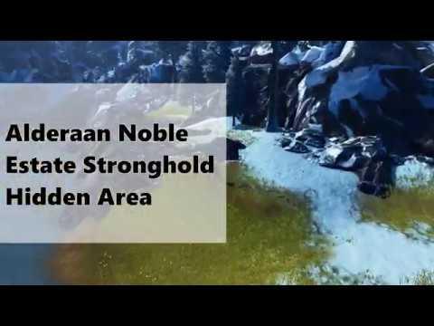 SWTOR Alderaan Noble's Estate Stronghold Hidden Area