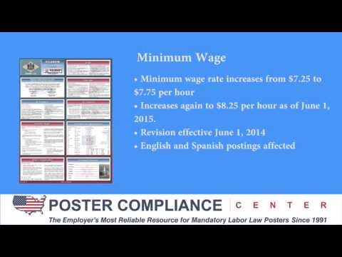 Delaware Labor Law Poster Update 5/14