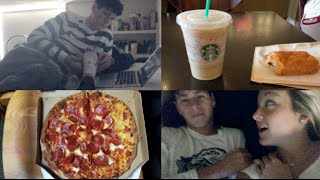 VISITING JUSTIN, STARBUCKS, &FOOT RUBS (VLOG)!