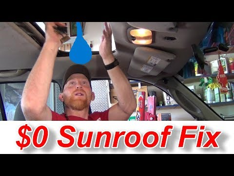 Sunroofs Everything How To Fix One OR Make It Manual For FREE!!
