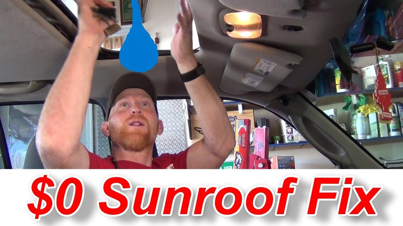 Sunroofs Everything How To Fix One Or Make It Manual For Free Youtube