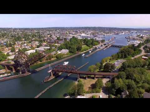 Ballard Locks   4k