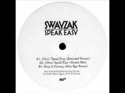 Swayzak - Speak Easy