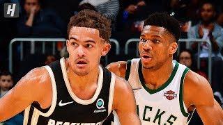 Milwaukee Bucks vs Atlanta Hawks - Full Game Highlights | November 20, 2019 | 2019-20 NBA Season