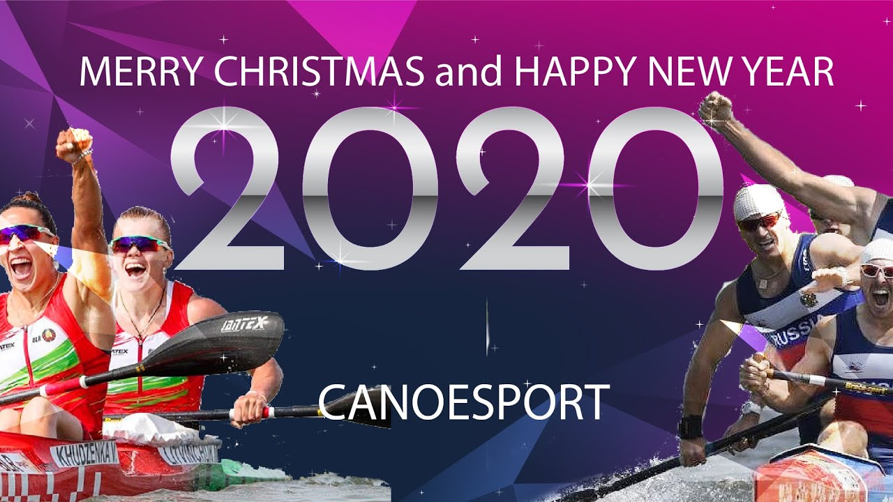 Christmas Sports 2020 Merry Christmas and Happy New Year Canoe Sport 2020   YouTube