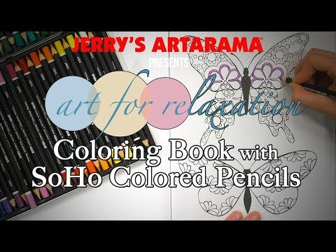 Art for Relaxation - Coloring Books with SoHo Colored Pencils