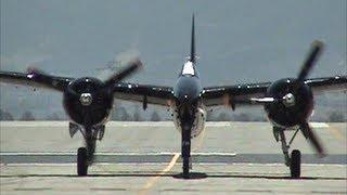 Grumman F-7F Tigercat Demonstration - 4,000+ Horsepower !