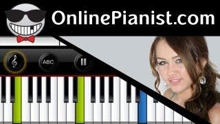 Miley Cyrus - The Climb - Piano Tutorial