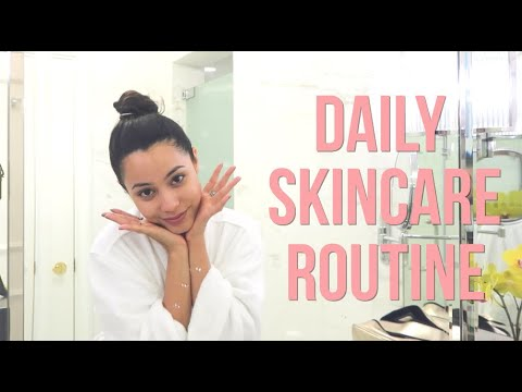 HOW TO GET RID OF ACNE IN A DAY! - MY DAILY SKINCARE ROUTINE