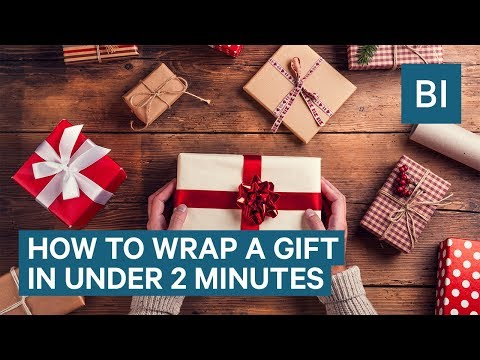 how-to-wrap-a-gift-in-under-2-minutes