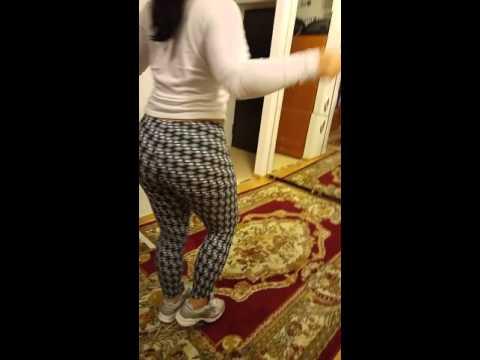 Beautiful Manele style, big round ass dancing girl. thumbnail