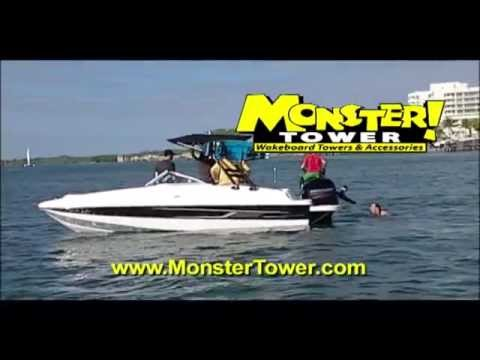 Monster Tower Wakeboard Towers & Accessories
